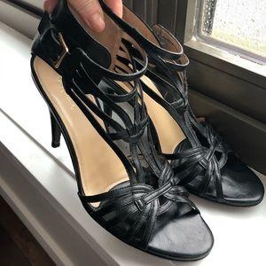 Cole Haan Nike Air open toe heels sz 10